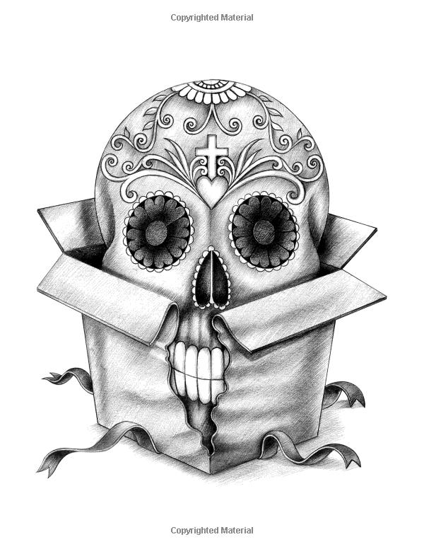 Amazon Skulls Coloring Book 9781545036099 Karlon Douglas Books