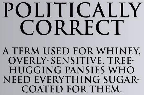 Politically Correct!  Follow us on Twitter @ConApparel Facebook - Conservative Apparel www.conservativeapparel.us