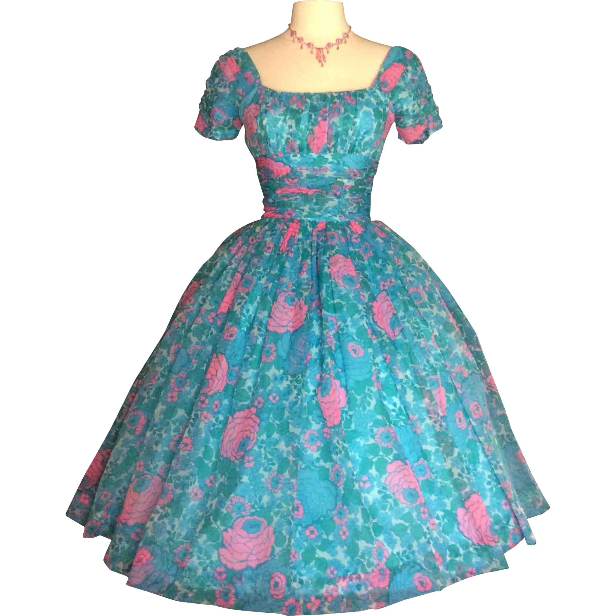 Vintage 1950s Dress//Jonathan Logan//50s Dress//New Look//Rockabilly ...