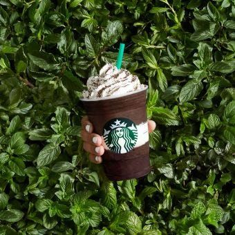 What Starbucks Frappuccinos USED To Look Like