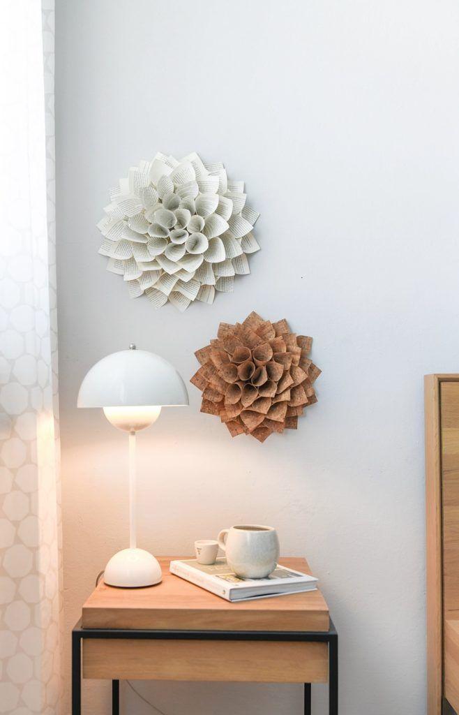Florales für die Wand – kreativ-welt.de – Basteln