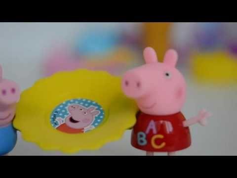 Massinha de Modelar Play doh Totoykids decorando Casinha de Sorvete da P...  Play DohPeppa PigPlay Dough