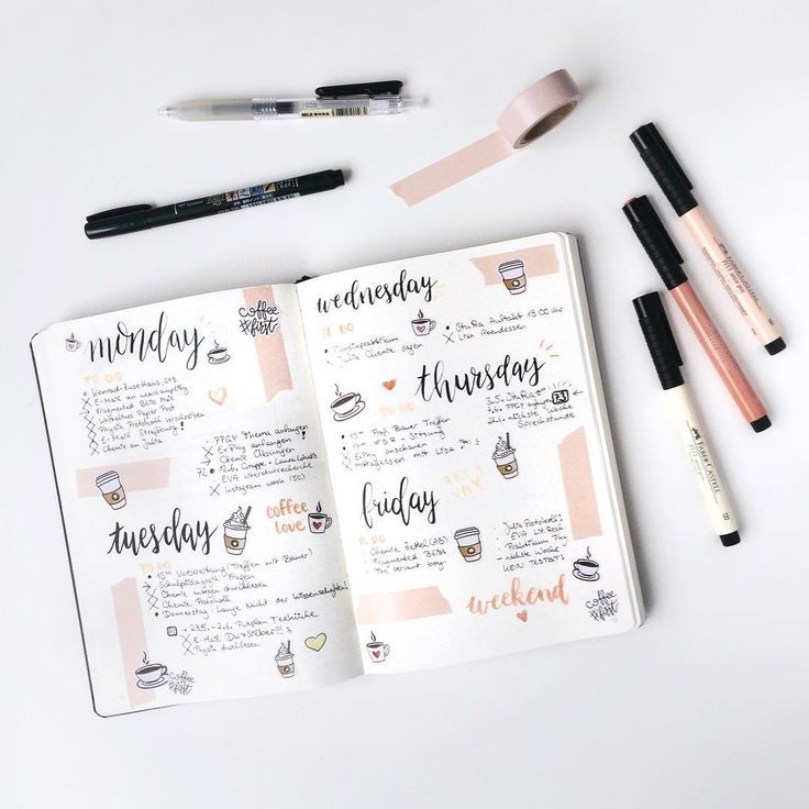 Looking for some inspiration for weekly bullet journal ideas? We've got the best! I dare you to get through these ideas without running for your bujo ...