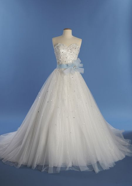 Cinderella Style 241- Strapless ball gown with sweetheart neckline ...
