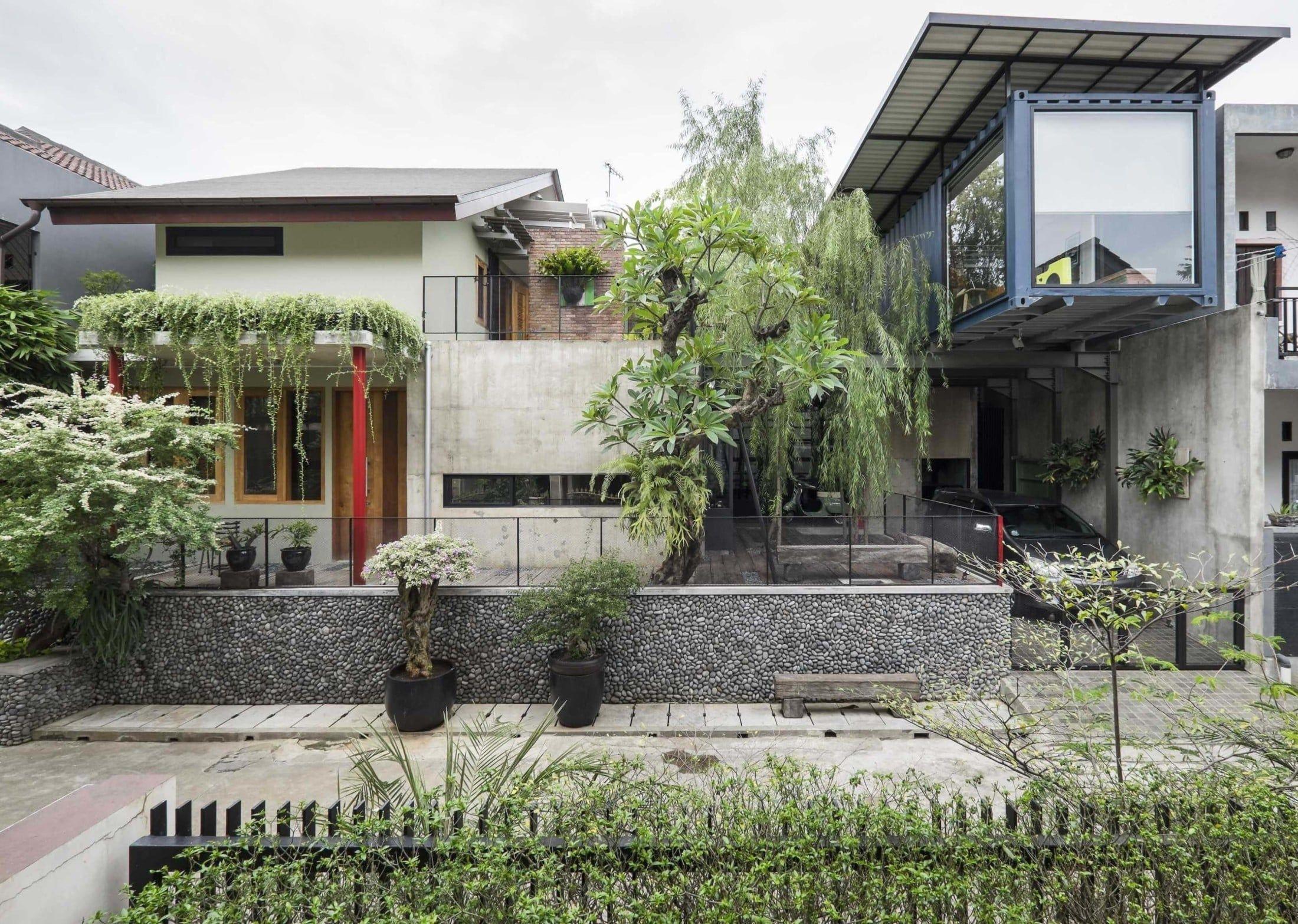 Desain Rumah Industrial Minimalis Architect Design Architecture Home Room Design