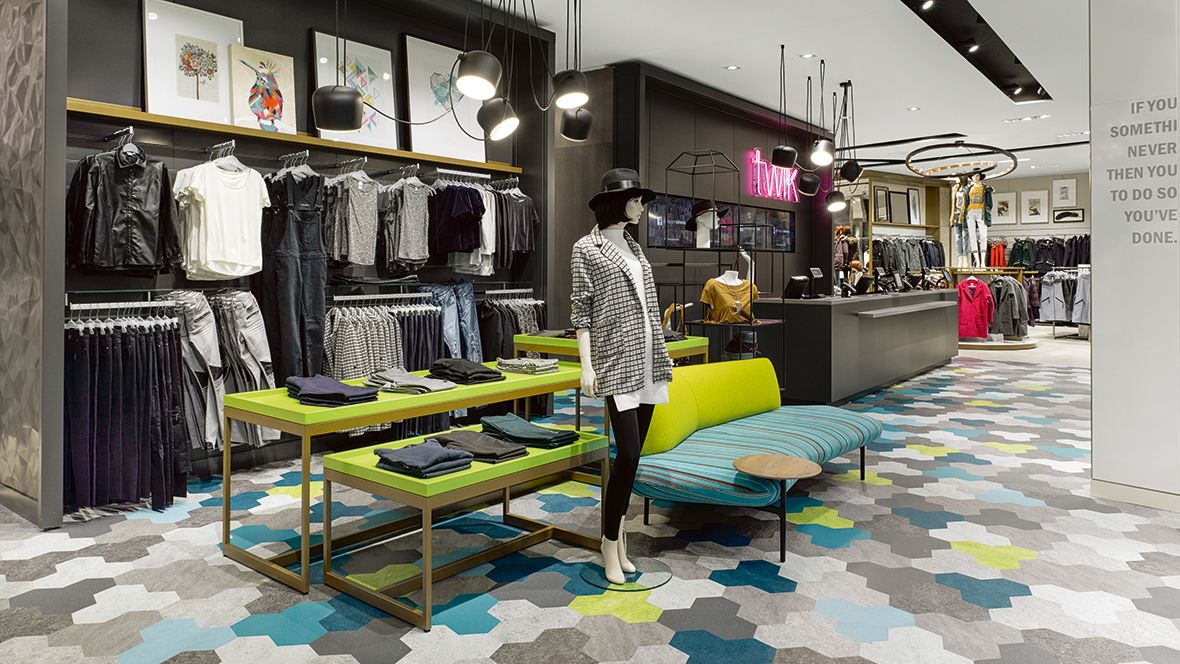 References Forbo Flooring Systems Retail interior
