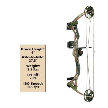 Bear® Archery Apprentice 2 Package at Cabela's; 279.00
