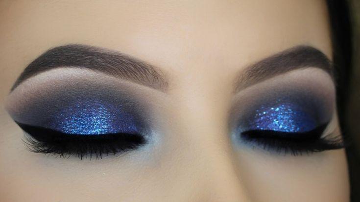 Smoky Eye Make-up, moderne Trends   - maquillaje -
