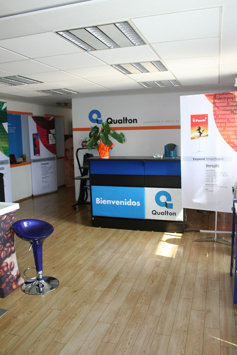 Nuestras oficinas http://www.qualton.com.mx/
