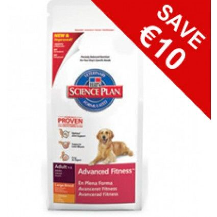For A Limited Time Get Hills Science Plan Advanced Fitness Adult Large Breed With Chicken For 10 Less Save While Stocks Last Dog Food Recipes How To Plan Food