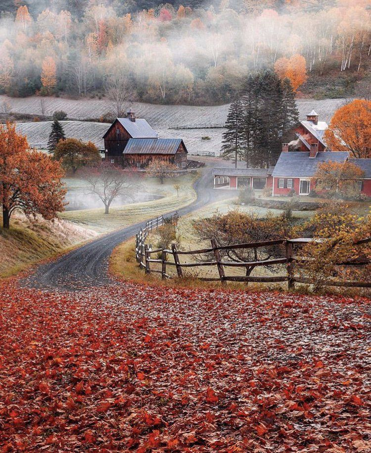 Sleepy Hollow Farm Scenery Best Travel Insurance Autumn Scenes