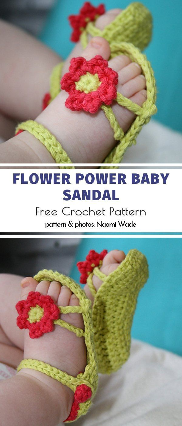 Photo of Cute Baby Sandals Free Crochet Patterns | Your Crochet #crochet patterns baby gi…