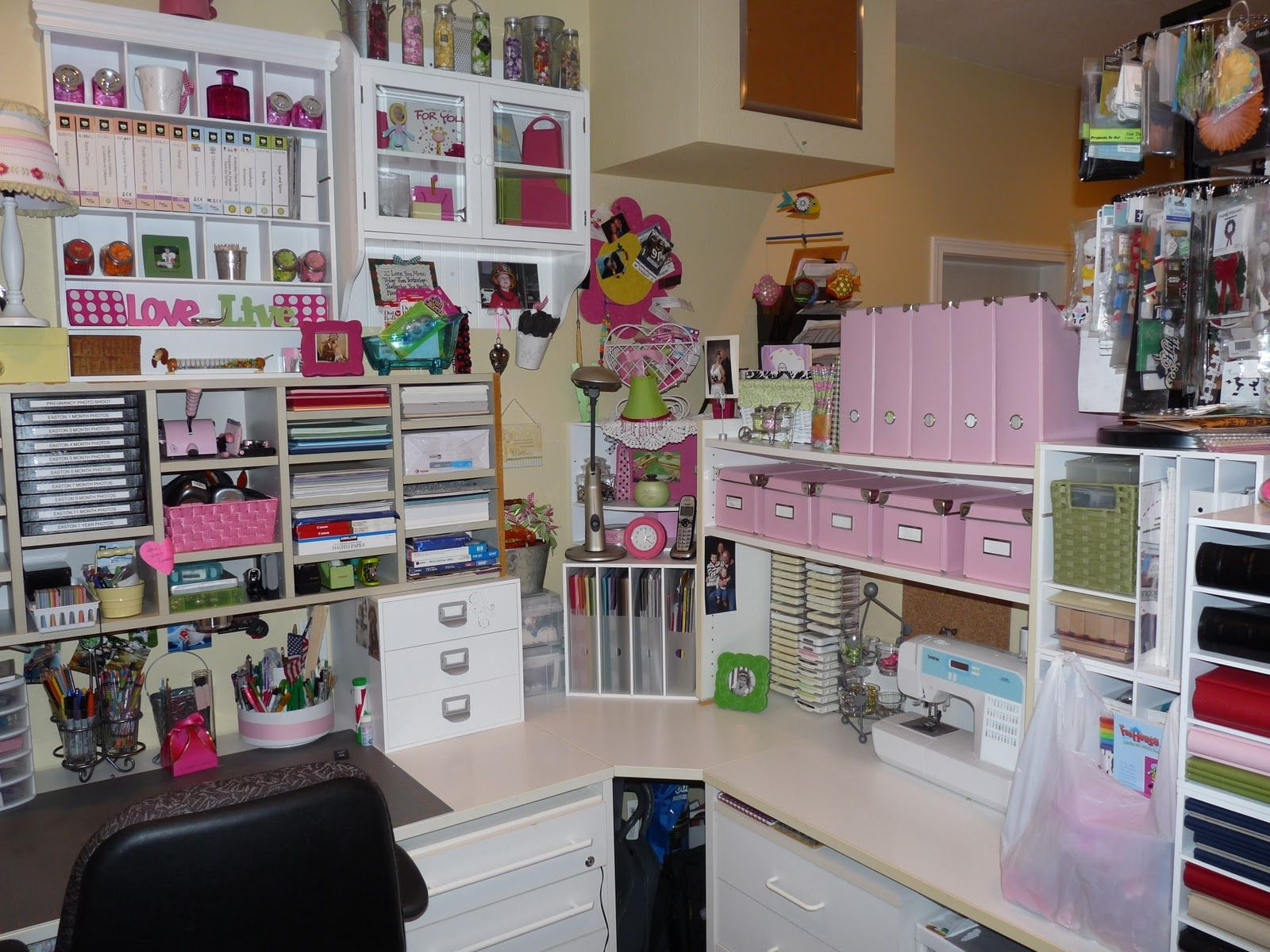 Great My Dream Craft Room Crafty Storage   The Whole Website Is Full Of Amazing  Storage Solutions!