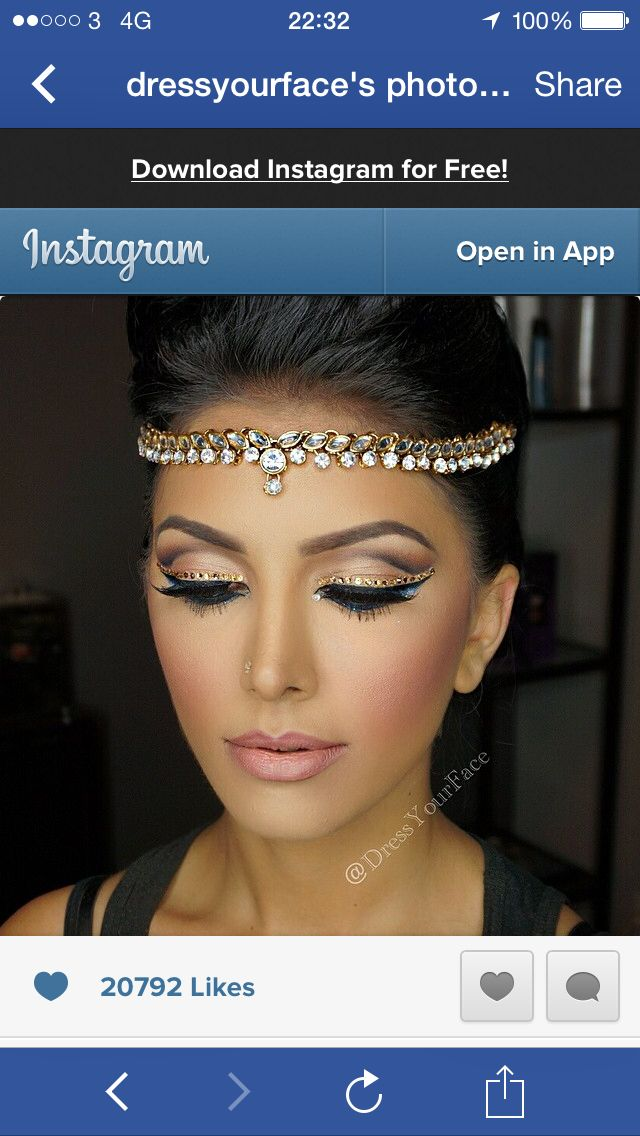 Moroccan Princess Bronze Look Birthday Stuff Pinterest Makeup