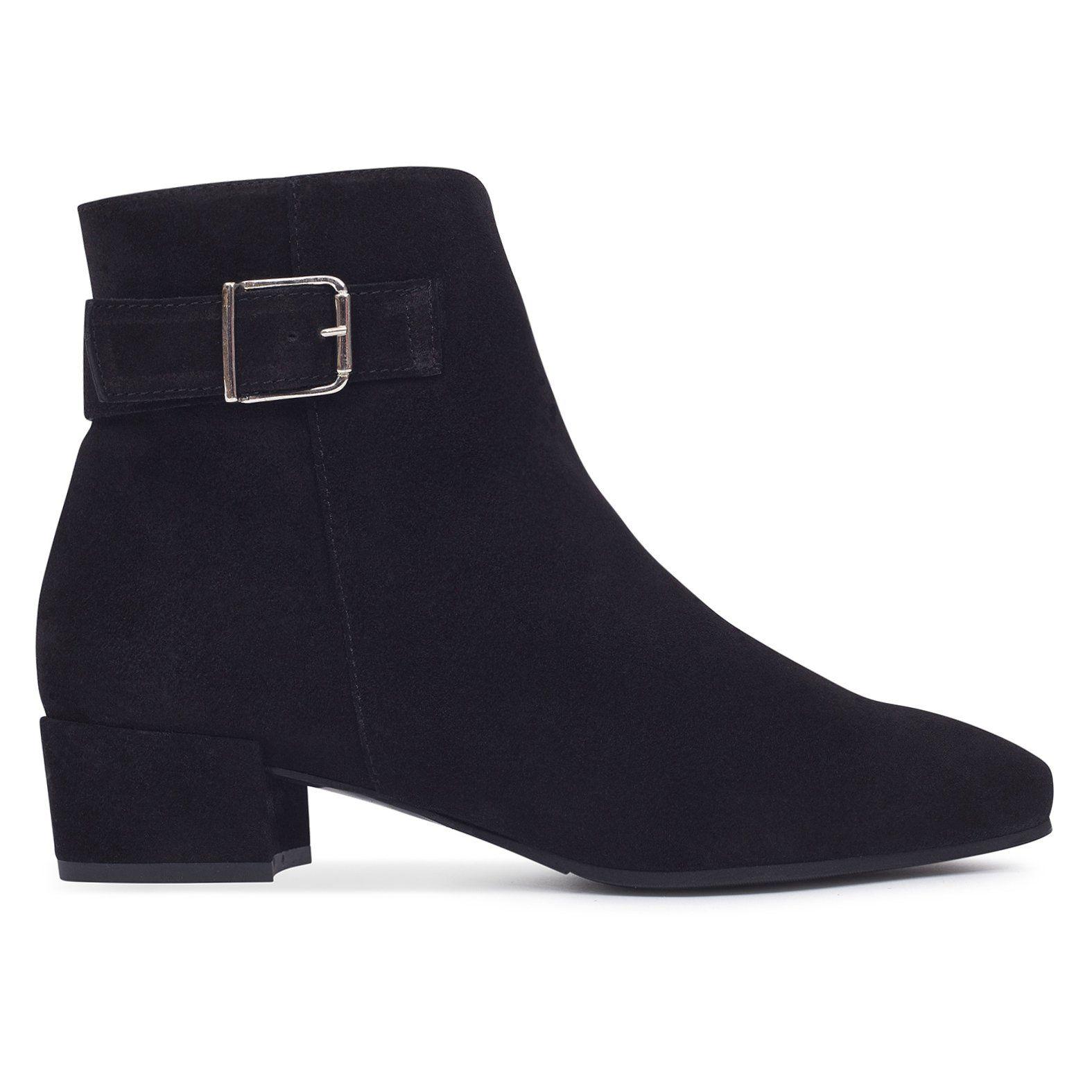 b7b0ccc7f2b Botín de mujer NEGRO Piel – made in Spain – Zapatos miMaO Online – miMaO  ShopOnline