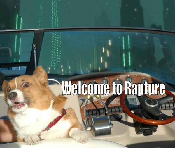 Corgi - Welcome to Rapture - Bioshock