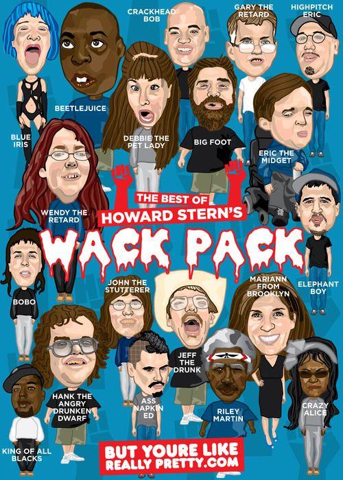 Best 25 Wack Pack Ideas On Pinterest Howard Stern