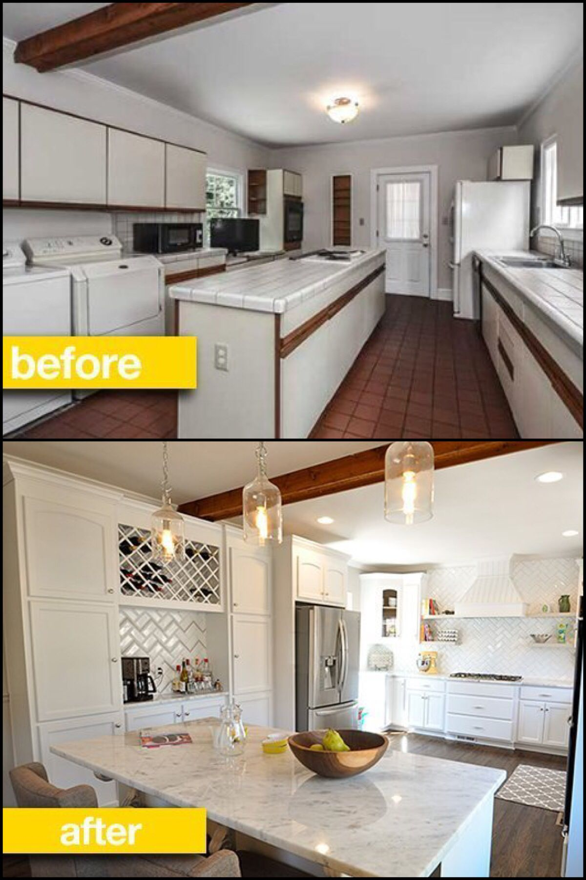 kitchen before after a young couple a fixer upper and a dream kitchen result reader. Black Bedroom Furniture Sets. Home Design Ideas
