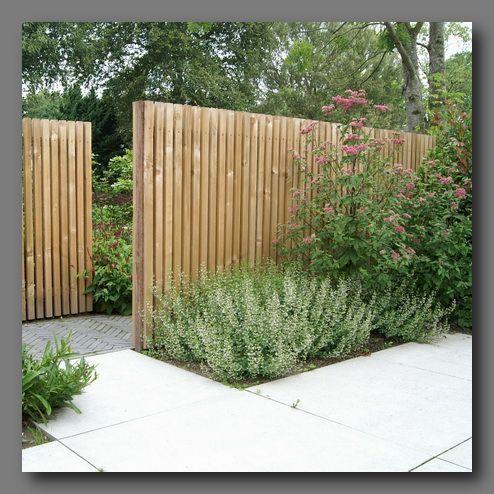 Photo of Idea from Groningen [Bouwkundige werken]… Offset fence opening – Ideetje from …