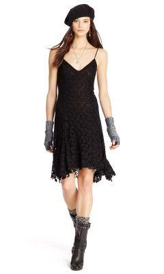 Lace Sleeveless Dress - Polo Ralph Lauren Short Dresses - Ralph Lauren  Germany