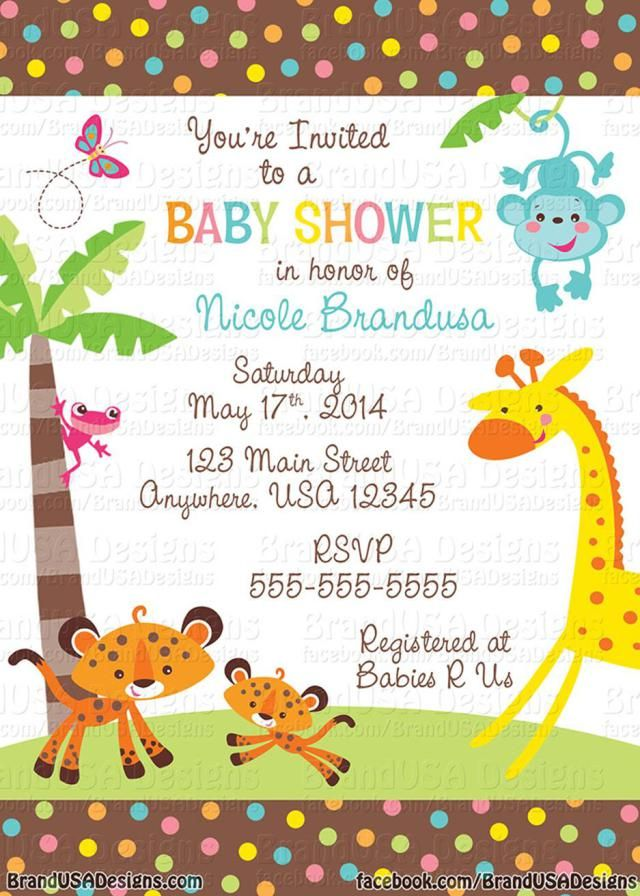 23 Cheap Baby Shower Invitations Ideas Event And More Ideas