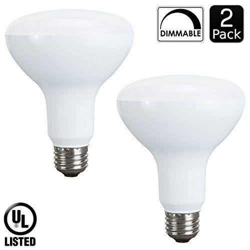 Luxrite Lr31812 10watt Led Br30 Flood Light Bulb 65w Equivalent Dimmable 650 Lumens E26 Base Natural White 3500k 2 Pack Light Bulb Flood Lights Greater Light