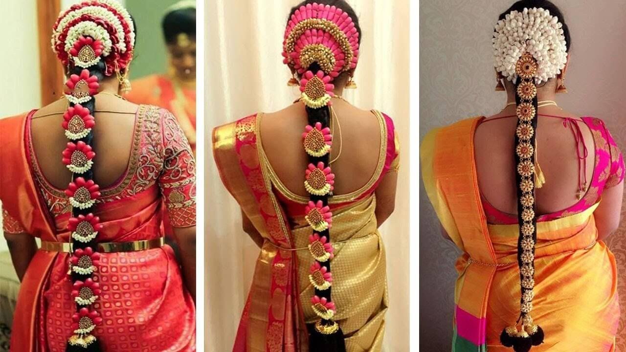 indian bridal hairstyles | wedding hairstyles step by step