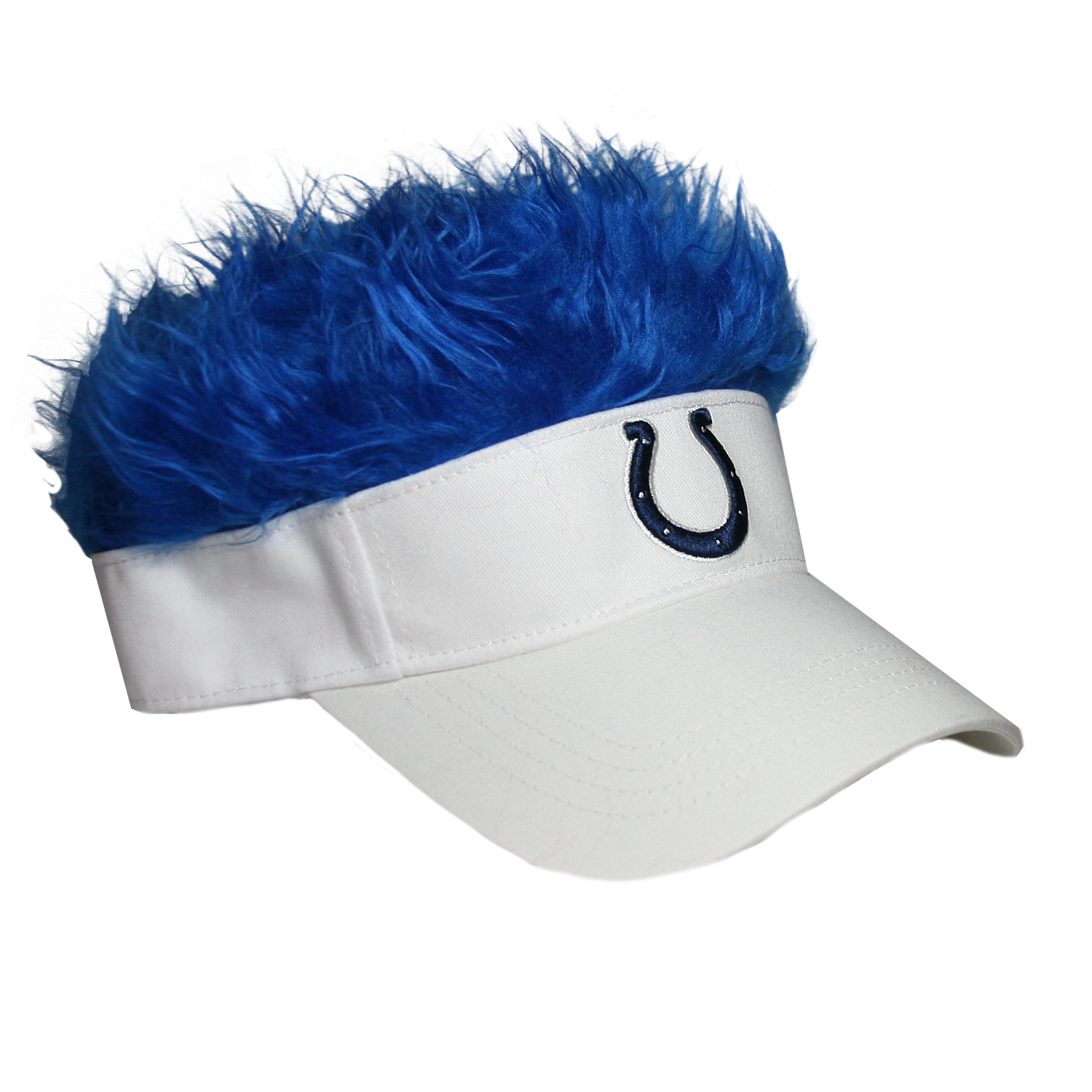 Indianapolis Colts Flair Hair Visor FlairHair NFL