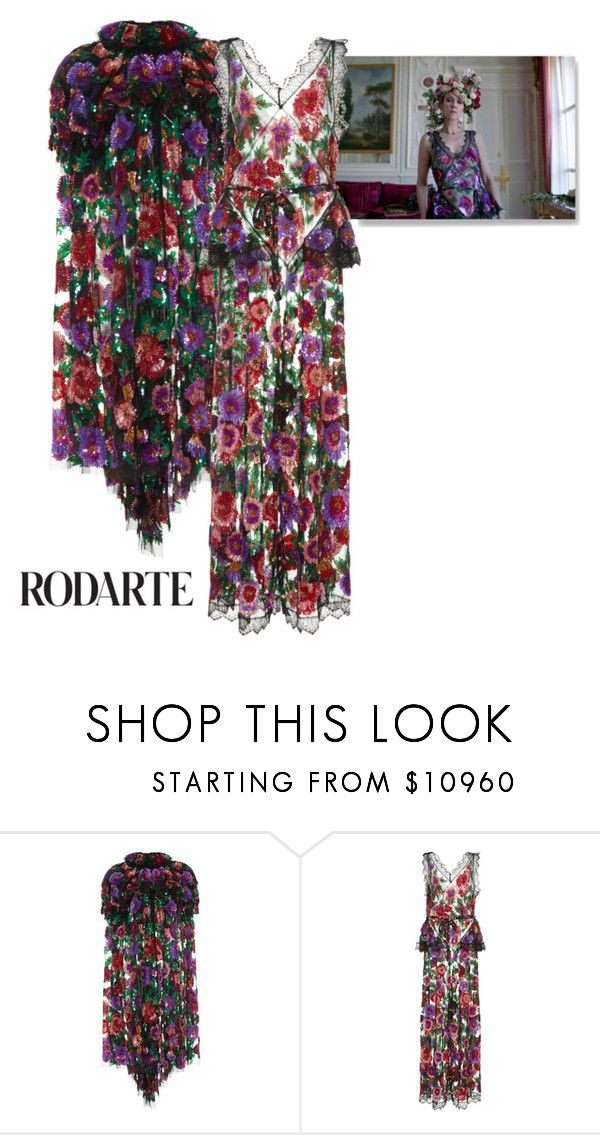 """CELINE DION VOGUE RODARTE"" by battistella on Polyvore featuring moda y Rodarte"