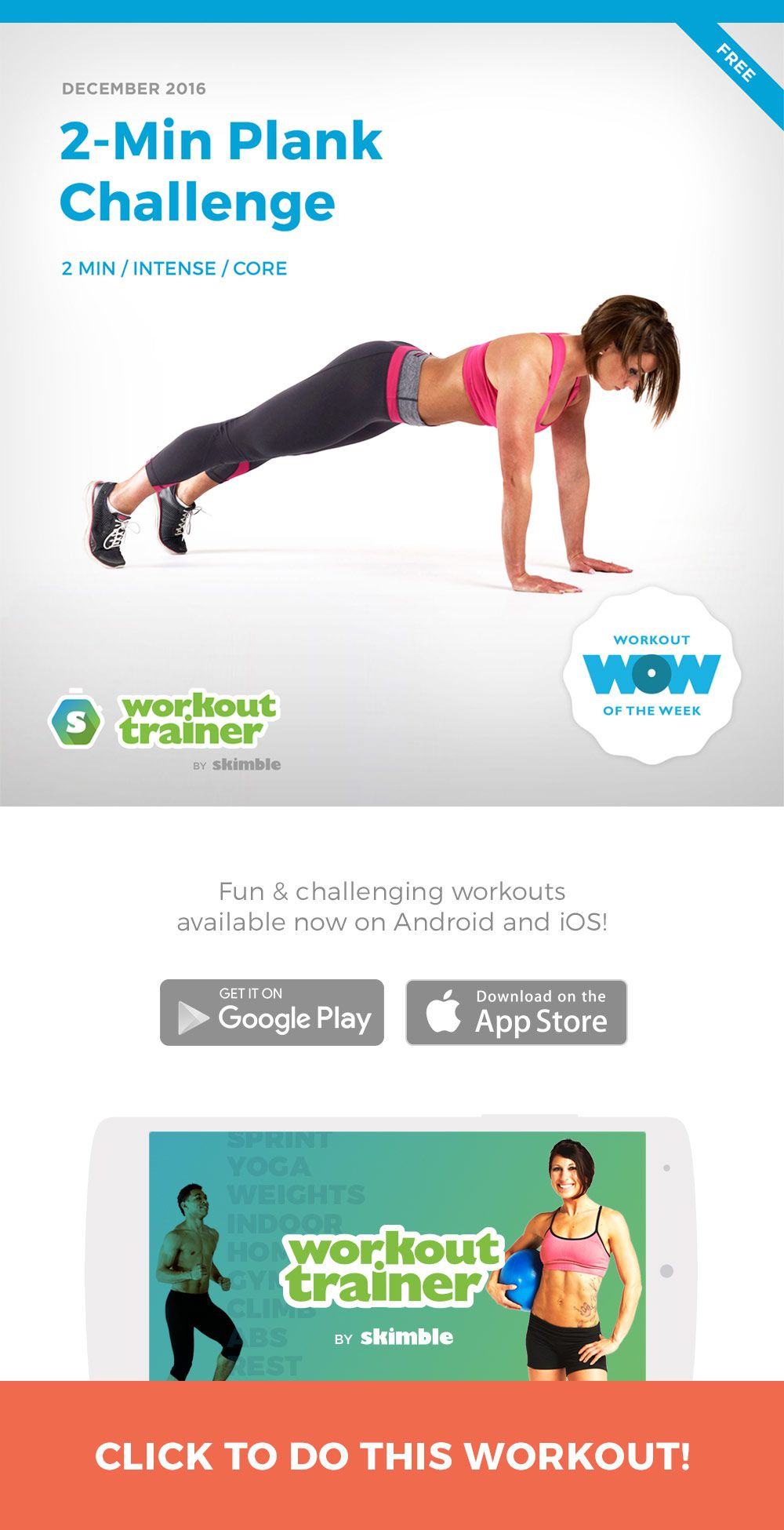 2Min Plank Challenge Plank challenge, Challenges, Workout
