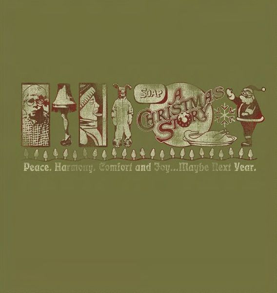 Maybe Next Year T-Shirt - Green | A christmas story, Christmas bells, All things christmas