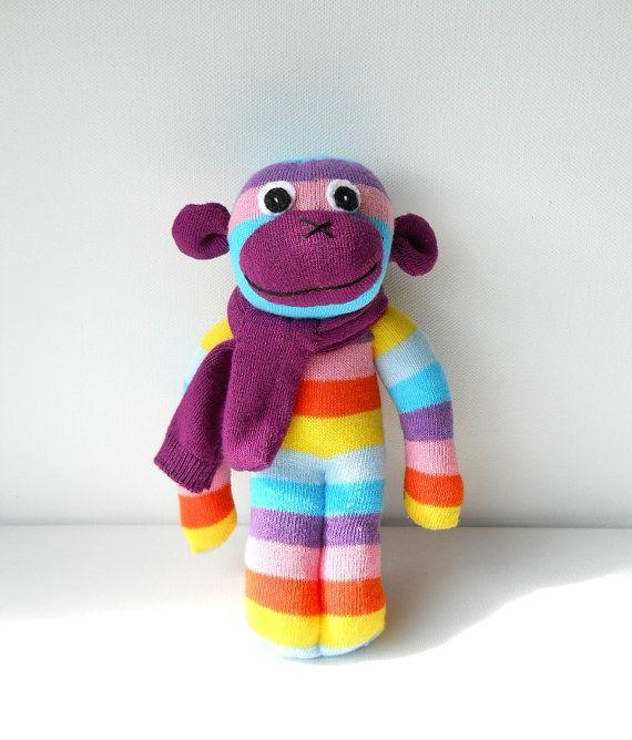 adorable sock monkey!