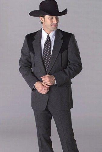 Circle S Charcoal Boise Sportcoat Western Suits Western Sport Coat Mens Western Suits