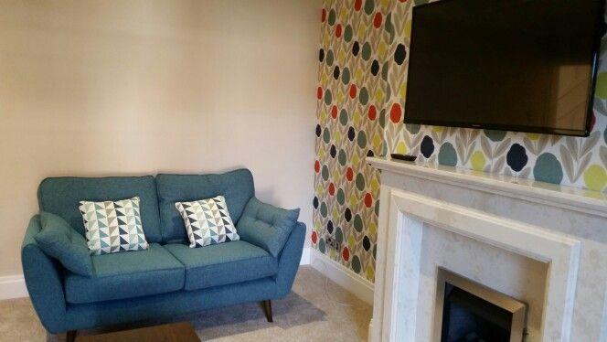 Dfs Zinc Sofa In Teal Teal Sofa Living Room Lounge Decor Living Room Sofa