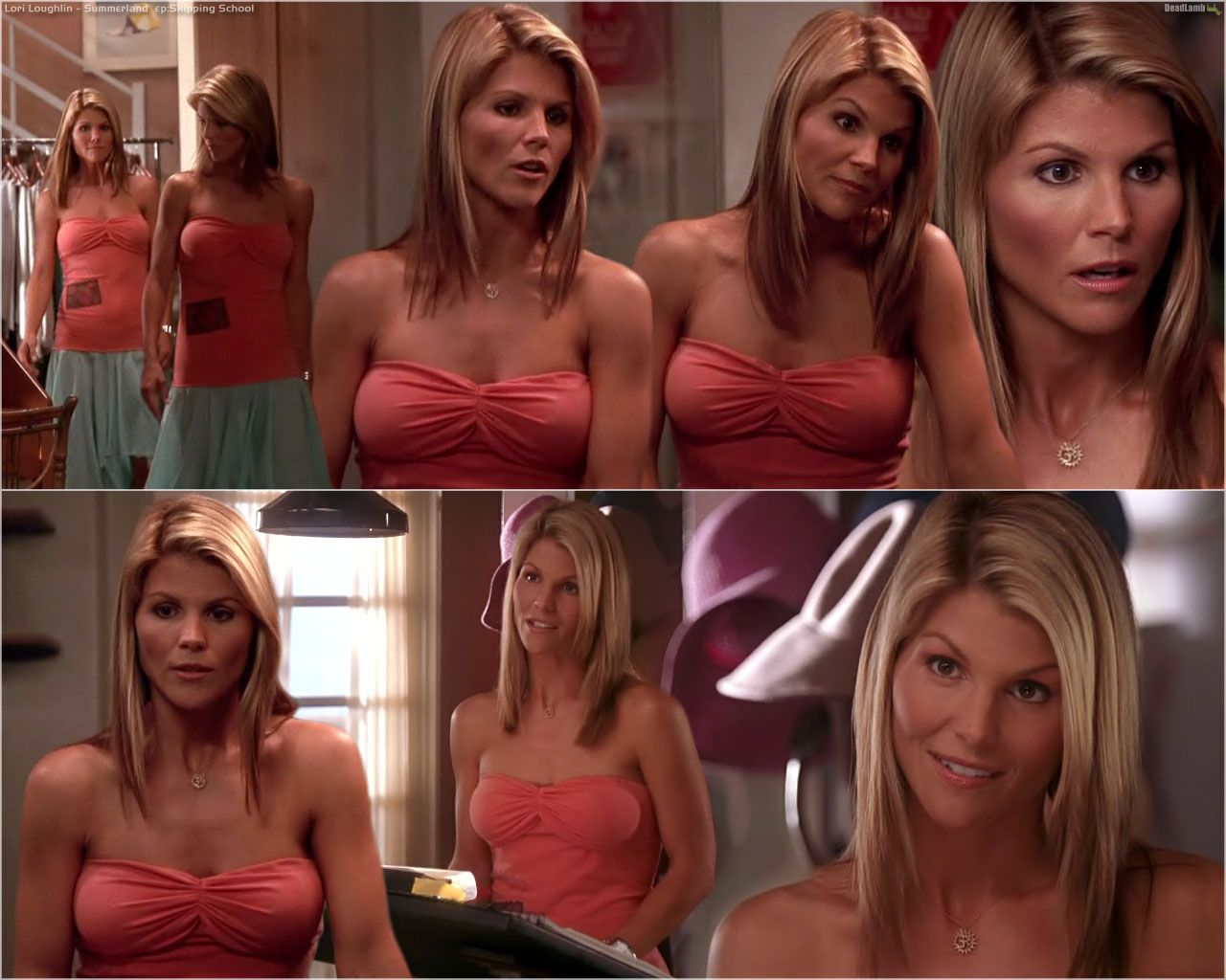 Lori loughlin bikini summerland