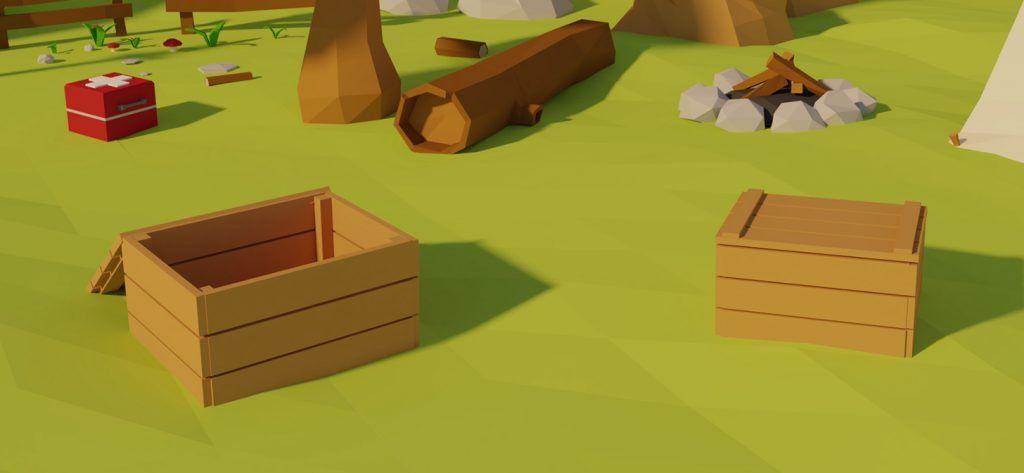 Blender Low Poly Game Asset Creation imagens)
