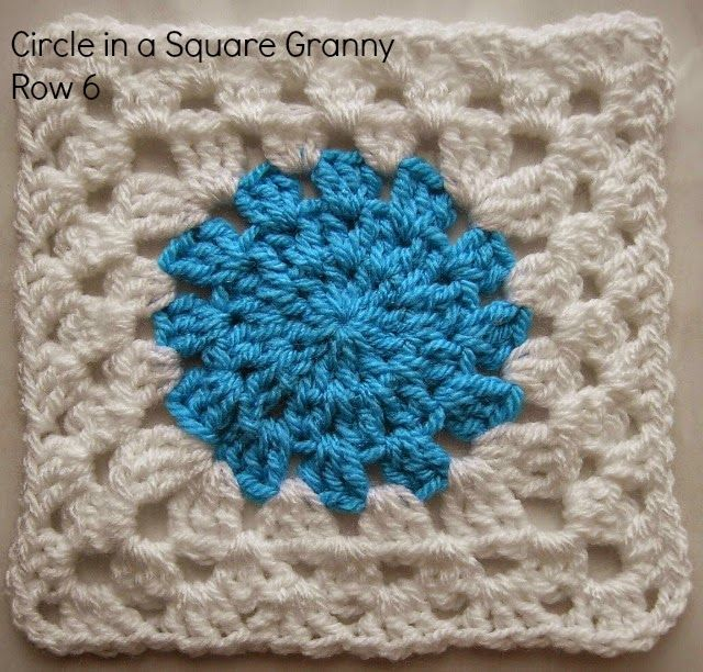Circle in a Square Granny: Wade\'s Blanket CAL (Part 1)   Granny ...