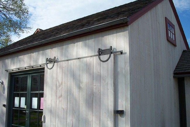 Standard Flat Track Sliding Door Hardware Exterior Barn Doors