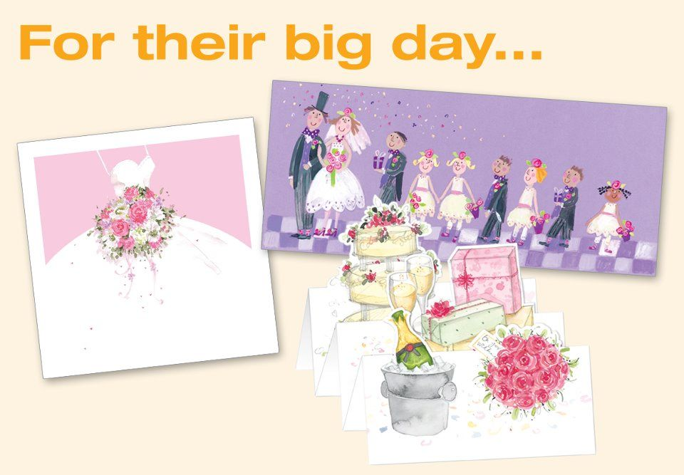 Wedding Cards for 3.60 each.