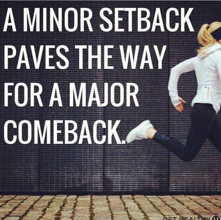 A minor setback paves the way for a major comeback. | Injury ...