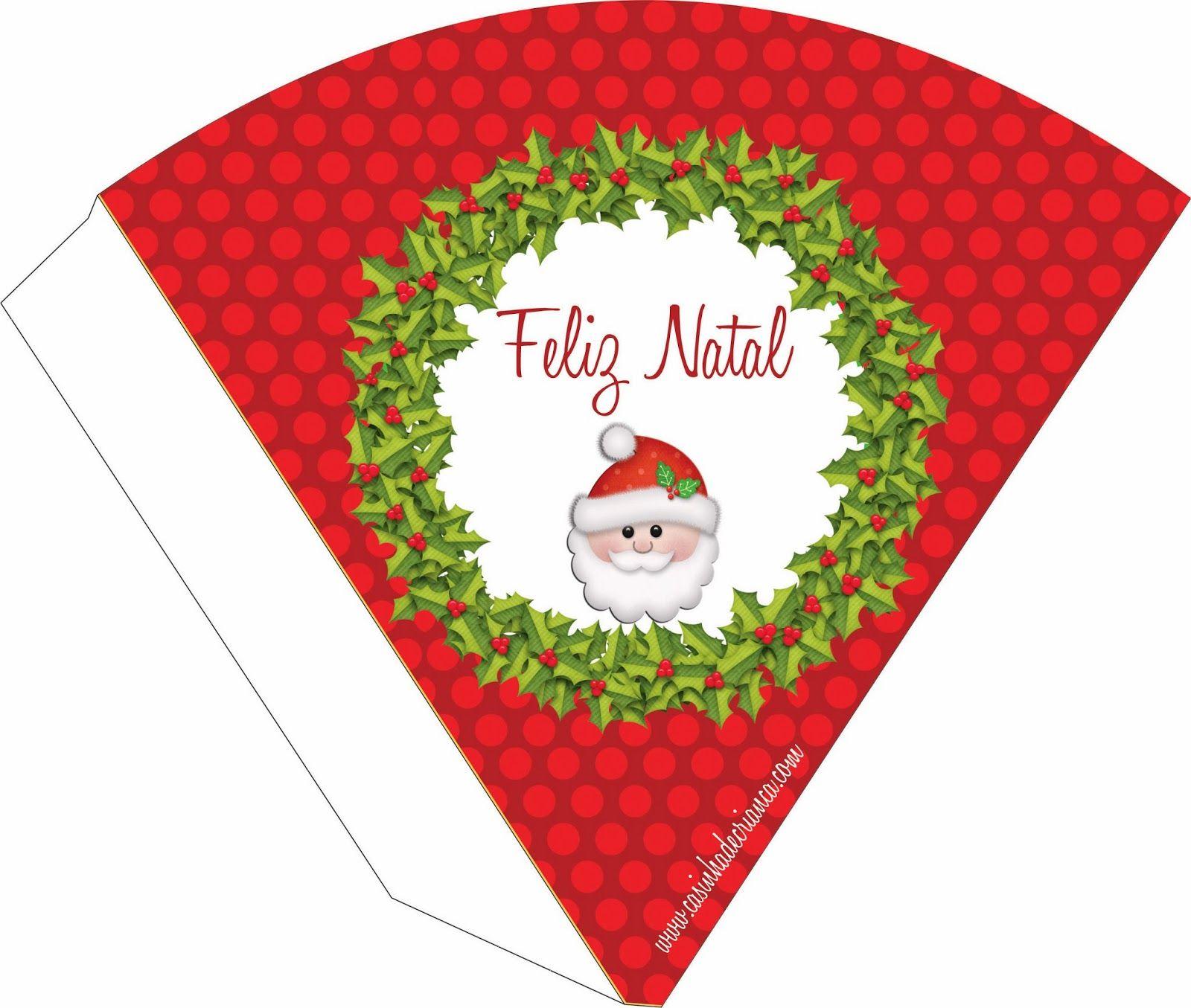 Kit Festa Natal Para Imprimir Grátis Festa De Natal Natal