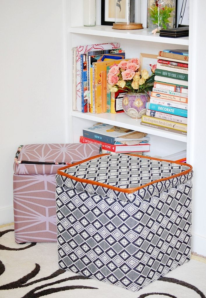 Make This: Custom Storage Ottoman DIY | Craft & DIY ...