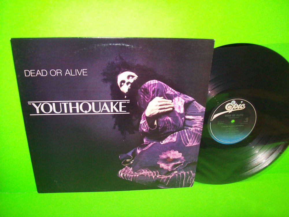 DEAD OR ALIVE Youthquake 1985 Vinyl LP SYNTH-POP You Spin Me Round Like A 5b70bd9ac
