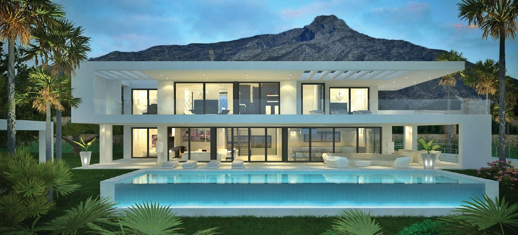 MODERN VILLAS MARBELLA | House & Home | Pinterest | Villas ...