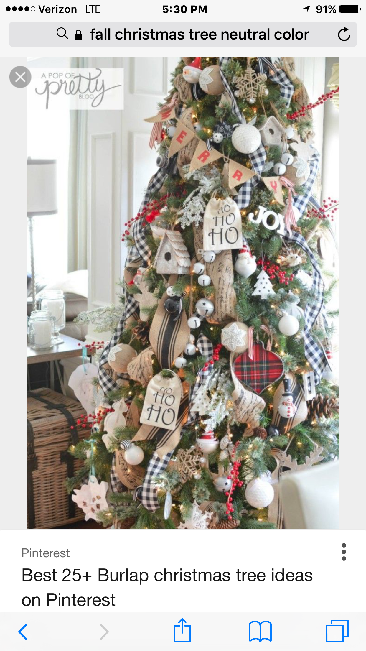 Inspiration for your fixer upper or farmhouse style Christmas home decor.  Everything a farmhouse lover needs.