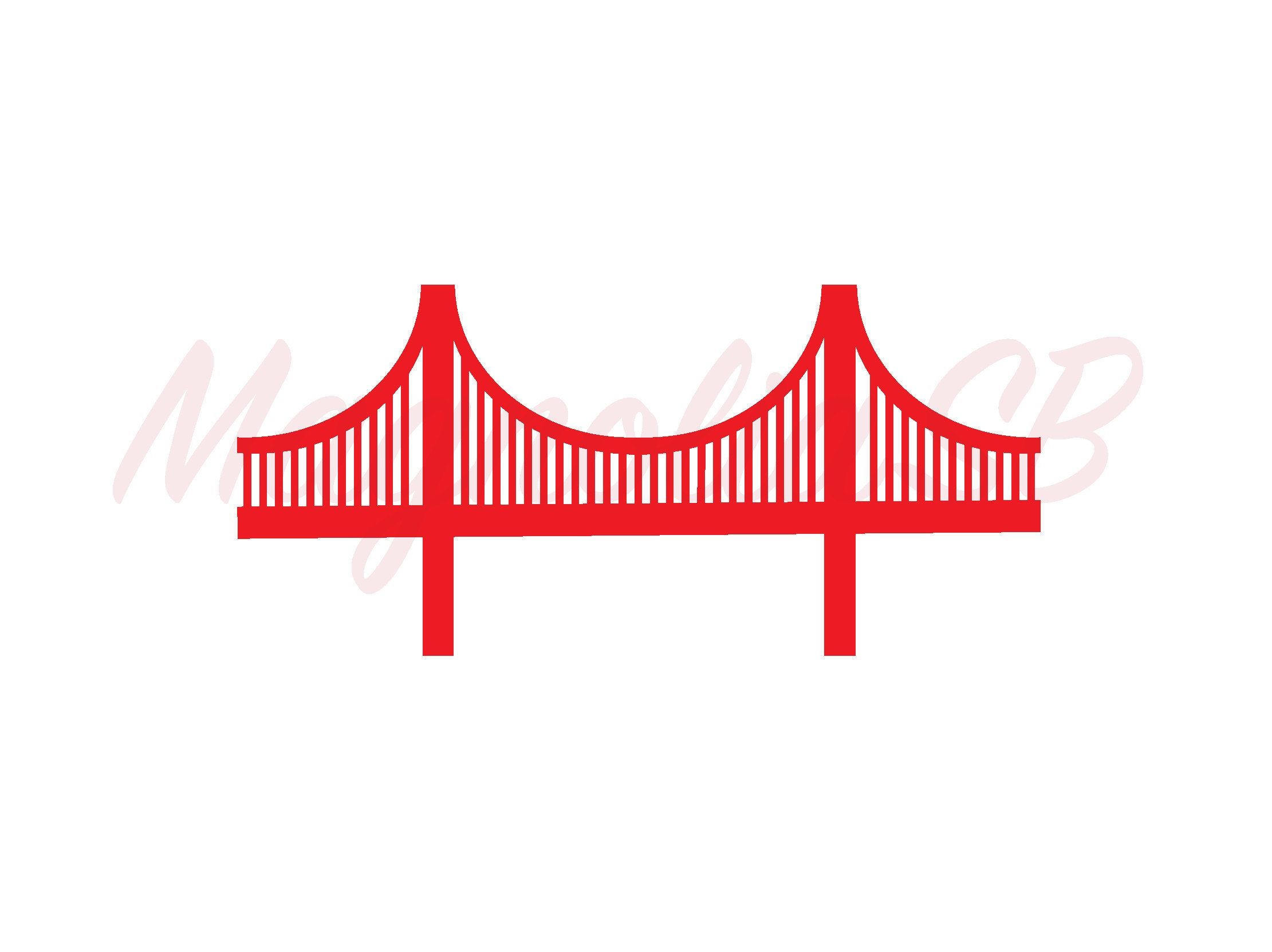 hight resolution of golden gate bridge svg golden gate bridge dxf golden gate bridge clipart