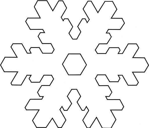 snowflakes coloring pages  Christmas  Christmas Snowflakes