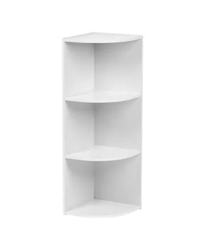 Iris Usa 3 Tier Corner Curved Shelf Organizer Reviews