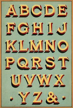 Traditional Sign Writing Fonts