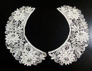 Lace collar bought in Japan